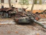 В Украине сделают символ мужества из подбитого российского танка