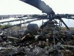 На месте крушения вертолета в Кременчуге нашли голову погибшего