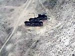 Посреди пустыни в Казахстане обнаружили два больших корабля