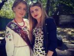 В Крыму выпускница пришла в школу в вышиванке