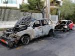 Украинское посольство в Афинах пытались забросать коктейлями Молотова