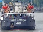 В Черном море возобновлен поиск экипажа затонувшего сухогруза
