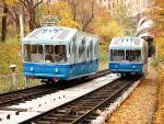 В Киеве закрыли фуникулер