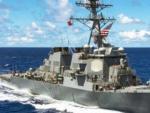 Тела пропавших матросов найдены в затопленных отсеках эсминца США