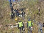 В Киеве нашли сумку с расчлененными кусками человеческого тела