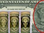 На американском долларе обнаружили изображение инопланетянина