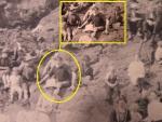 На фотографию, сделанную в 1917 году, попал путешественник во времени