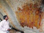 В Индии обнаружены древние наскальные изображения инопланетян и НЛО
