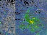 Над Техасом появилась странная гигантская зеленая аномалия