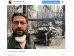 Голливудский актер Джерард Батлер показал, что осталось от его жилья после пожаров в Калифорнии