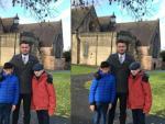 В Великобритании на семейный портрет попал призрак