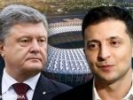 По данным экзит-поллов, на выборах в Украине победил Зеленский