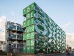 В Йоханнесбурге предлагают квартиры в семиэтажных домах из контейнеров