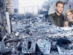 Майли Сайрус показала свой сгоревший особняк в Калифорнии