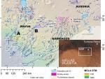 На Марсе обнаружено множество древних озер
