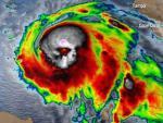 «Это знак»: ученые показали жуткий череп урагана «Майкл»