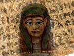 В маске фараона обнаружено древнее Евангелие
