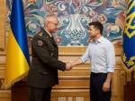 Зеленский сменил начальника Генерального штаба