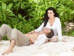 Анастасия Заворотнюк успокоила фанатов селфи на отдыхе с мужем