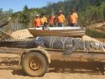 В Австралии после восьмилетней охоты поймали огромного 600-килограммового крокодила