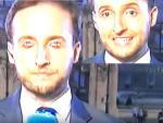 Телеведущий испанских новостей моргнул «нечеловеческими» глазами