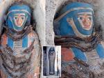 В Египте обнаружили восемь загадочных мумий в двойных саркофагах
