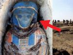В Египте обнаружили мумию с изображением лица инопланетянина