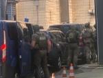 НАБУ опубликовало видео погони за машиной СБУ с задержанным судьей Чаусом