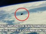 Экипаж «Спейс Шаттл» запечатлел треугольный НЛО