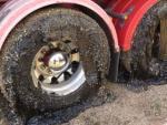 В Австралии из-за аномальной жары начали плавиться дороги