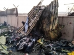В Тегеране на взлете упал украинский самолет