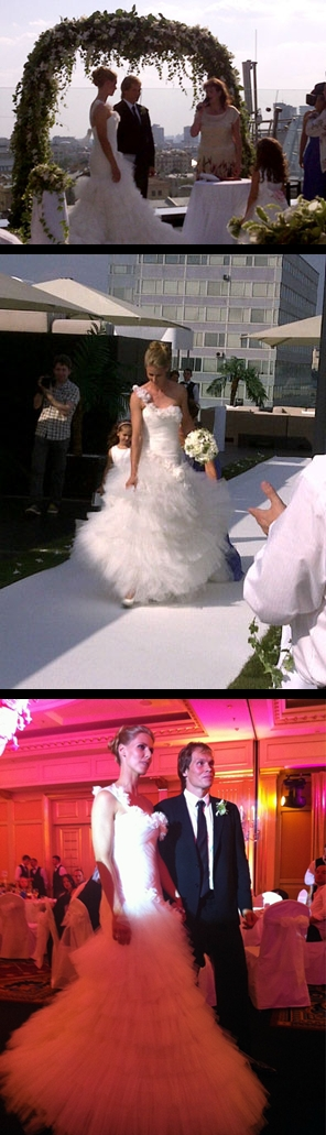 Elena dementieva wedding