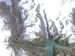 На поверхности Гренландии обнаружен странный гигантский треугольник