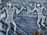 В Индии обнаружили древние рисунки с инопланетянами