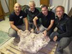 Во Франции обнаружили самый большой метеорит в стране